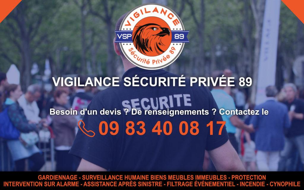 entreprise sécurité privée 89